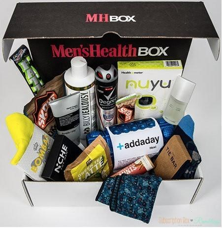 Men's Health Box Third Quarter (Fall) 2016 - Full Spoilers!