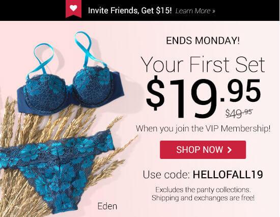 Adore Me – First Set for $19.95!