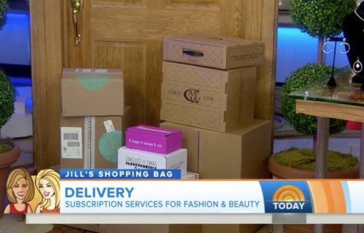 Today Show Subscription Box Segment!