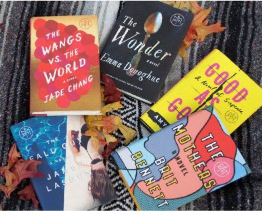 Book of the Month October 2016 Selection Time