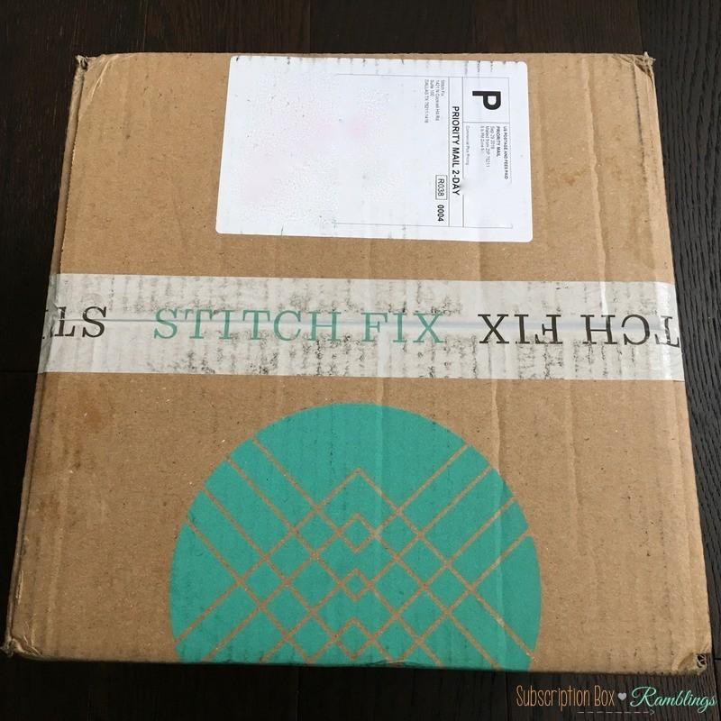 stitch fix review - october 2016
