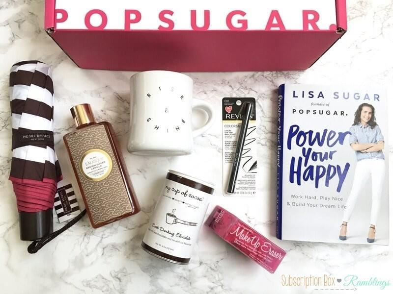 POPSUGAR Must Have Box Review + Coupon Code – October 2016
