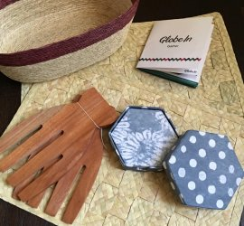 """GlobeIn October 2016 Subscription Box Review - """"Gather"""" + Coupon Code"""
