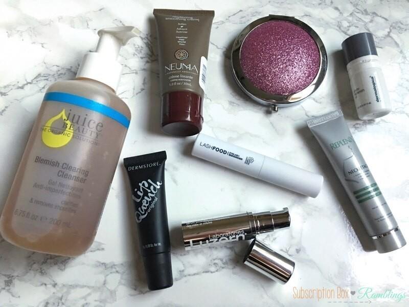 BeautyFIX October 2016 Subscription Box Review
