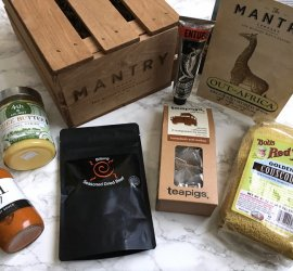 "Mantry September 2016 Subscription Box Review ""Out of Africa"""
