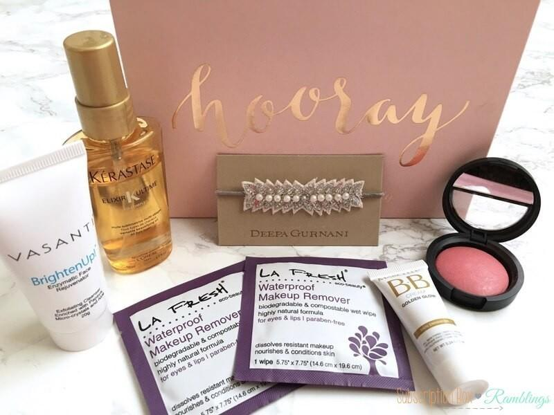 Birchbox Mystery Box Review