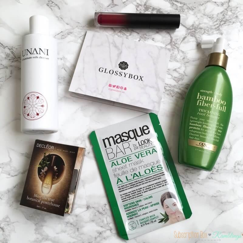 GLOSSYBOX Review + Coupon Code – October 2016