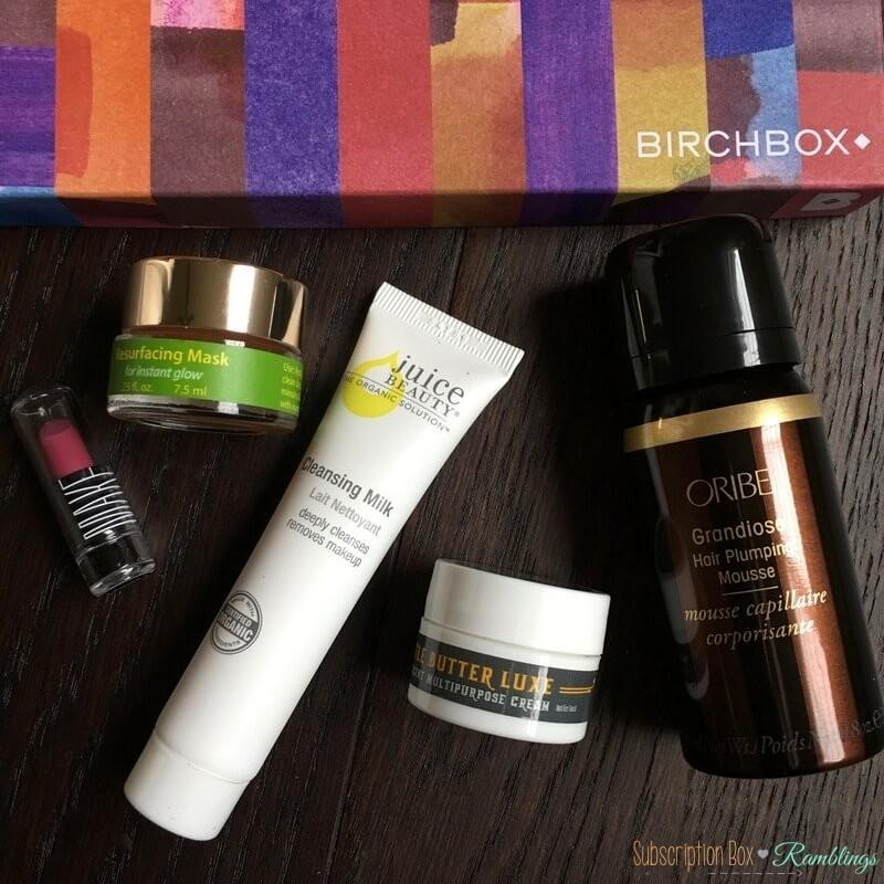 Birchbox October 2016 Box Review + Coupon Codes