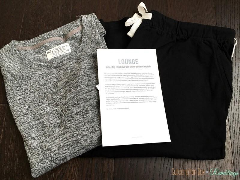 """Bespoke Post Review + Coupon Code – October 2016 """"Lounge"""""""