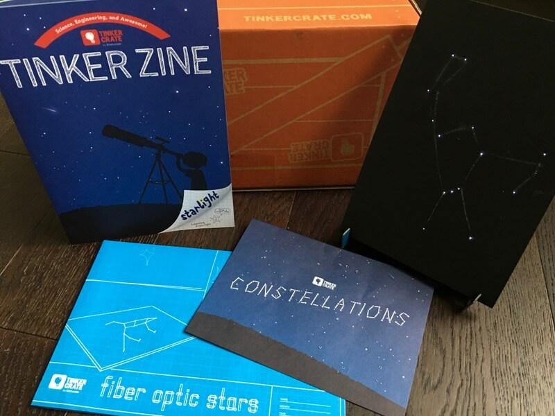 Tinker Crate October 2016 Review + Coupon Code
