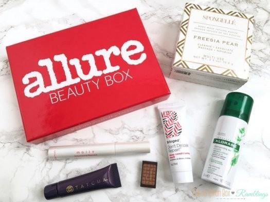Allure Beauty Box October 2016 Subscription Box Review