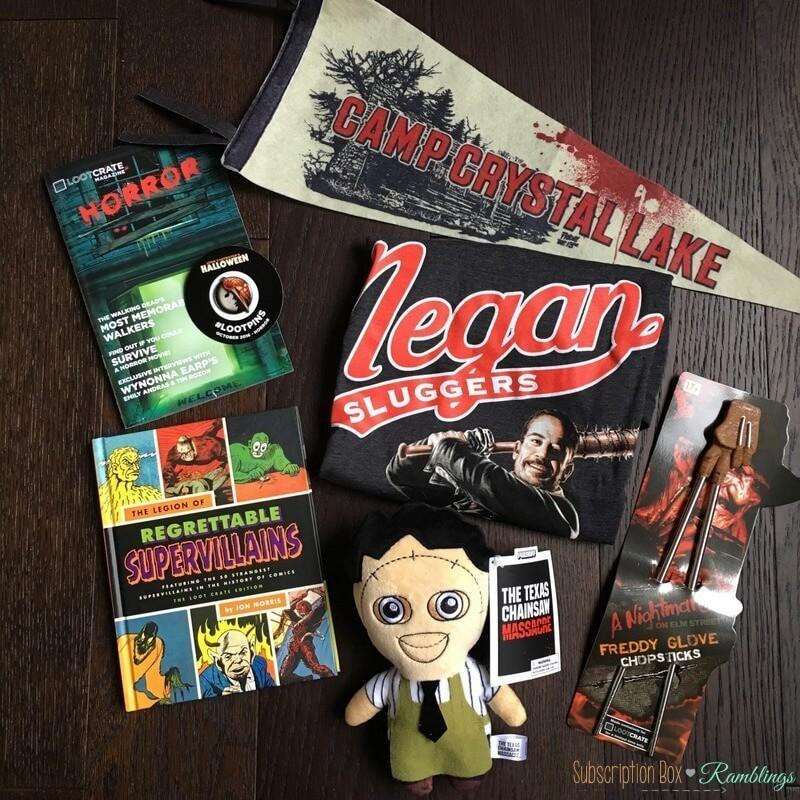 Loot Crate October 2016 Review + Coupon Code