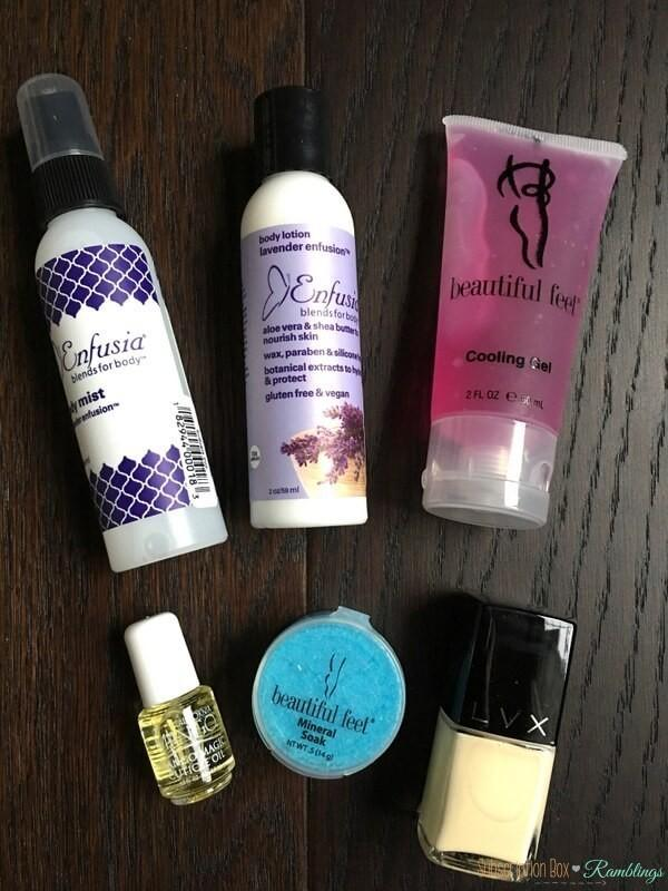 Imperial Glamour Beauty Box Review – October 2016