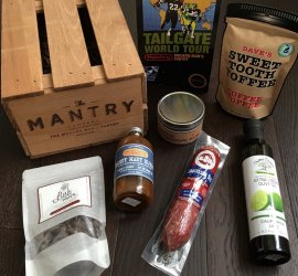 Mantry October 2016 Subscription Box Review