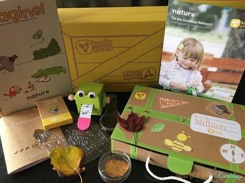 Koala Crate October 2016 Subscription Box Review + Coupon Code