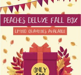 Peaches and Petals Deluxe Limited Edition Box