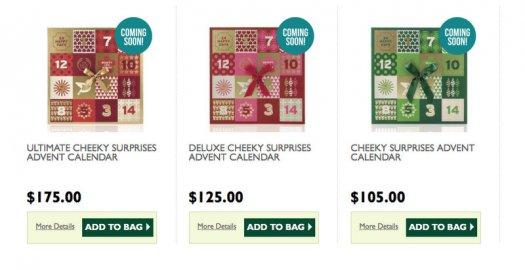 The Body Shop Advent Calendars – On Sale Now!
