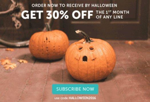 Kiwi Crate 30% Off Halloween Sale