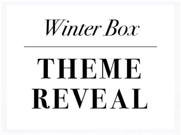 Mostess Box Winter 2016 Theme Reveal + Sneak Peek / Spoiler!