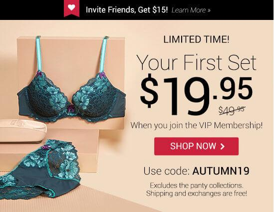 Adore Me First Set for $19.95!