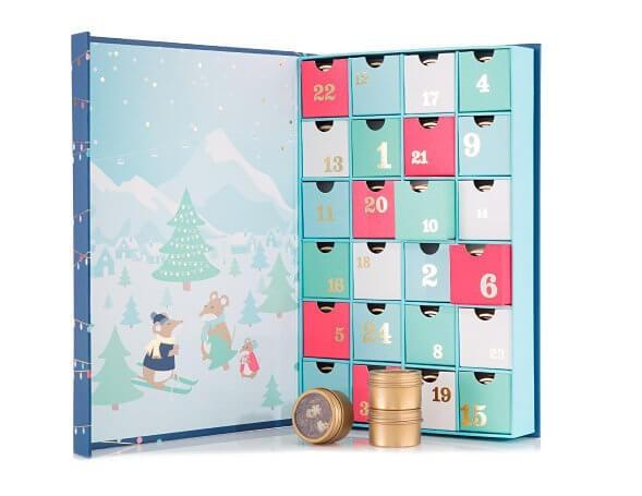 David S Tea 24 Days Of Tea Advent Calendar On Sale Now