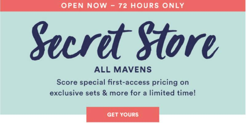 Julep November 2016 Secret Store – Now Open