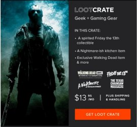Loot Crate October 2016 Additional Box Details / Spoilers