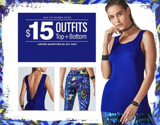 Fabletics - First Outfit for $15!