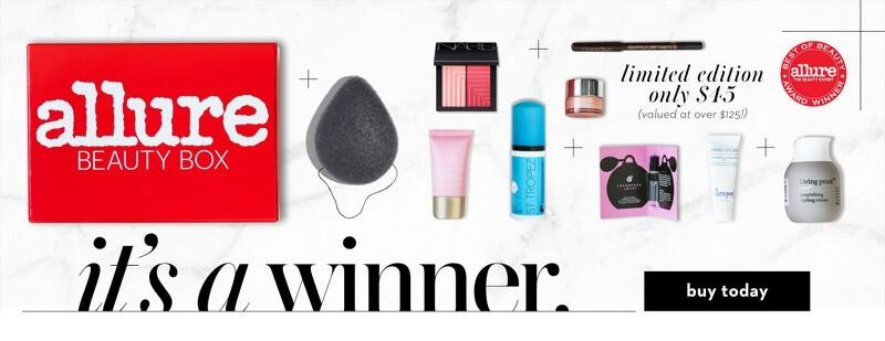 Allure Best of Beauty 2016 Limited Edition Box!