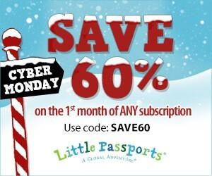 Little Passports Cyber Monday Sale – Save 60% (EXTENDED)