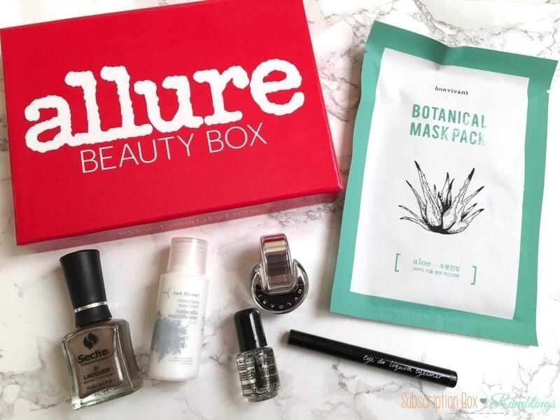 Allure Beauty Box November 2016 Subscription Box Review