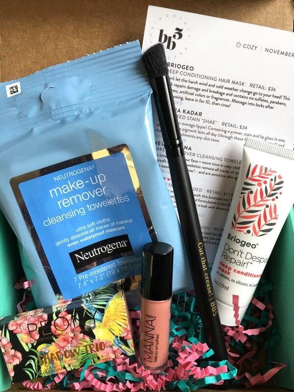 Beauty Box 5 Review – November 2016 Subscription Box