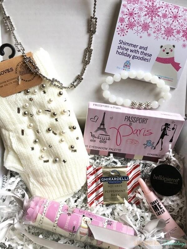 The Boodle Box Review – December 2016 Subscription Box