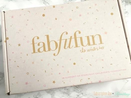 FabFitFun Review Winter 2016 + $10 Off Editor's Box Coupon Code