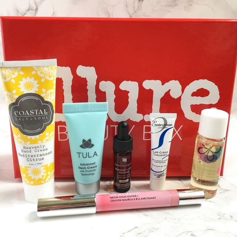 Allure Beauty Box Review December 2016 Subscription Box
