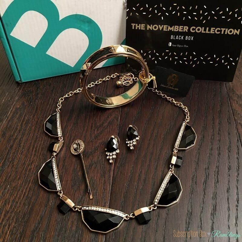 Your Bijoux Box Review – November 2016