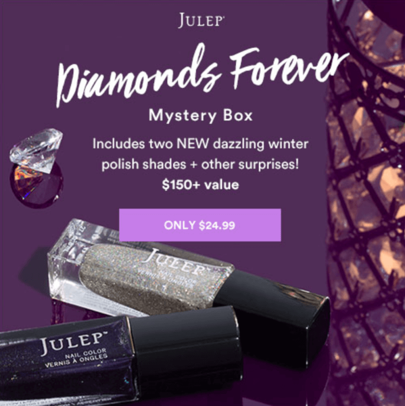 Julep Diamonds Forever Mystery Box