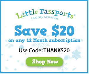 Little Passports – Save $20 Off An Annual Subscription