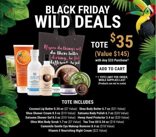 The Body Shop Black Friday Tote – Now Available!