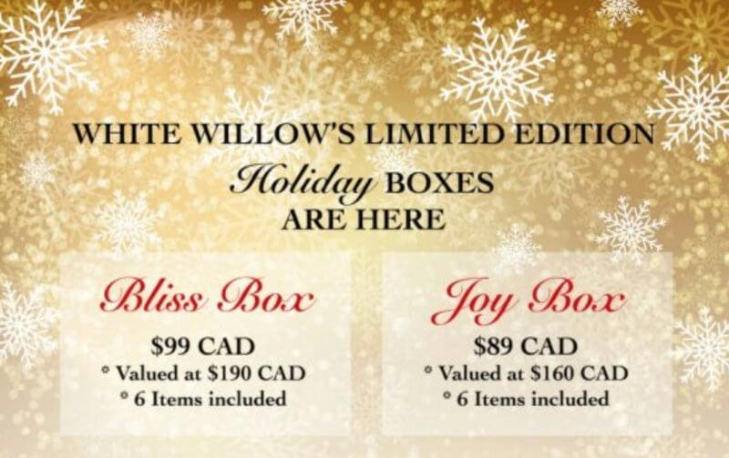 White Willow Box Holiday Boxes – On Sale Now!