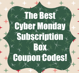 Cyber Monday Subscription Box