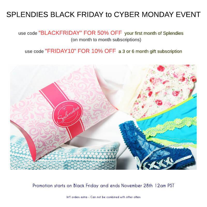 Splendies Black Friday – Save 50% Off!