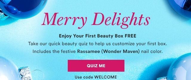Julep – First Box Free Offer!