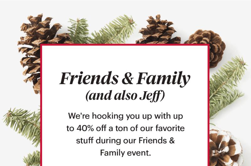 Bespoke Post Friends & Family Sale