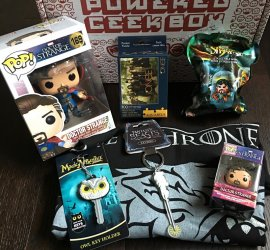 Powered Geek Box November 2016 Subscription Box Review