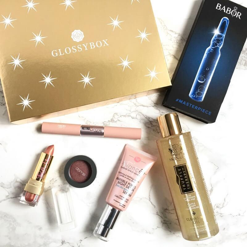 GLOSSYBOX Review – 2016 Limited Edition Holiday Box Review