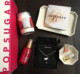 POPSUGAR Must Have Box Review - December 2016 + Coupon Code