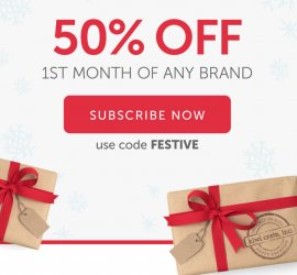 Kiwi Crate 50% Off First Box Offer + 3 Days Left for Holiday Shipping