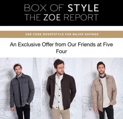 Five Four Club – Double Clothes in your First Box!