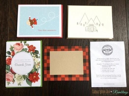 Pennie Post Review – December 2016